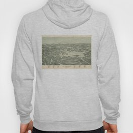 Vintage Pictorial Map of Lake Winnipesaukee (1903) Hoody