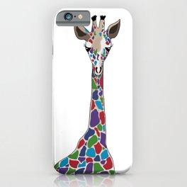 Polychromatic Giraffe iPhone Case