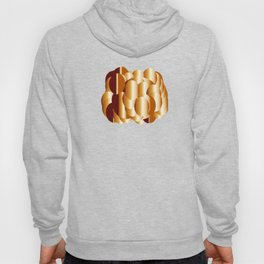 copper metal shield abstract geometrical art Hoody