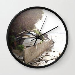 Laguna Adventures Await Wall Clock