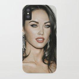 Megan Fox iPhone Case