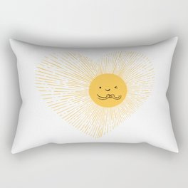 You are the Sunshine of my heart Rectangular Pillow