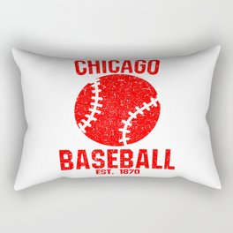 Chicago Baseball Gift USA Gift Idea Rectangular Pillow