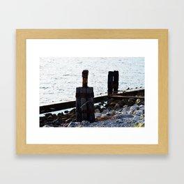 Port St. Joe Marina view 27 Framed Art Print
