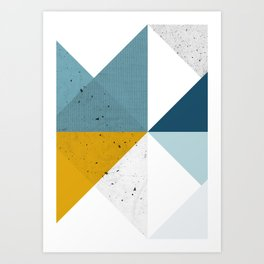 Modern Geometric 17 Art Print
