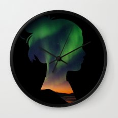 Dreaming Girl Wall Clock