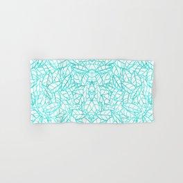 Sketchy Palms in Sea Breeze Hand & Bath Towel