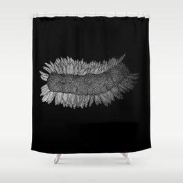 Mutated Fukushima Daisy  Shower Curtain