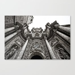 The Church Canvas Print