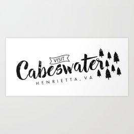 visit cabeswater Art Print