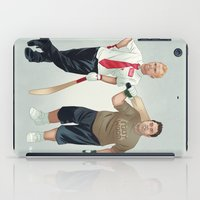 shaun of the dead iPad Cases featuring Shaun of the Dead by Dave Collinson