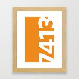 7413 Framed Art Print