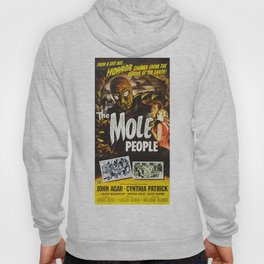 The Mole People, vintage horror movie poster Hoody