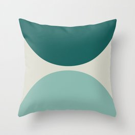 Abstract Geometric 20 Throw Pillow