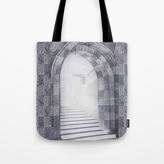 Neither coming nor going Tote Bag