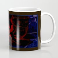 anarchy Mugs featuring anarchy love by Eve Divyn