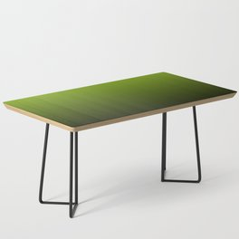 Ombre | Lime Green and Charcoal Grey Coffee Table
