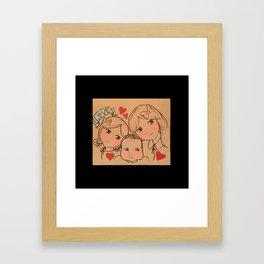 Cousin Love Framed Art Print