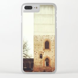 Architecture of Impossible_Utopian Ideal City Clear iPhone Case