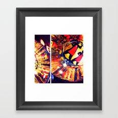 Les 3 Brasseurs  Framed Art Print