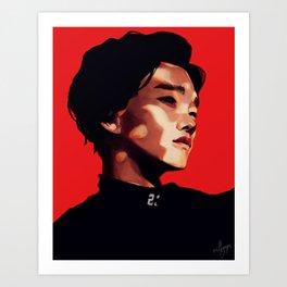 EXO Chen Art Print