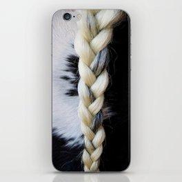 Equine Braid iPhone Skin
