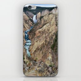 Grand Canyon of the Yellowstone - Yellowstone National Park iPhone Skin