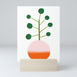 Chinese Money Plant Mini Art Print