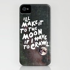 To the Moon Take 2 iPhone (4, 4s) Slim Case
