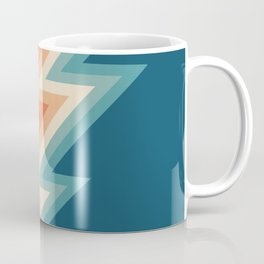 Retro style chevron pattern Coffee Mug