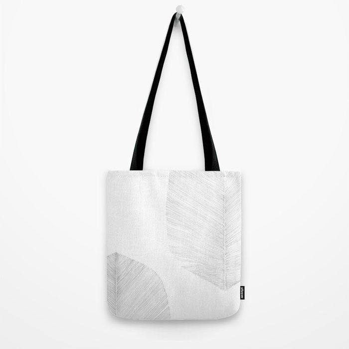 WHITE FEATHER Tote Bag