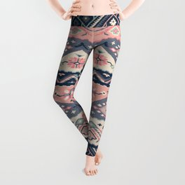 -A23- Epic Anthropologie Traditional Moroccan Artwork. Leggings