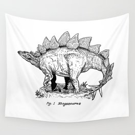 Figure One: Stegosaurus Wall Tapestry