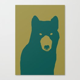 like a wolf Canvas Print
