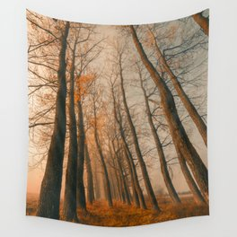 Autumn trees Wall Tapestry