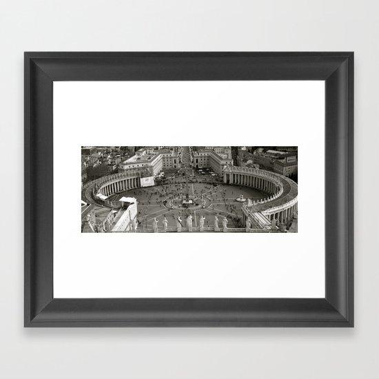 Vatican City Rome Framed Art Print