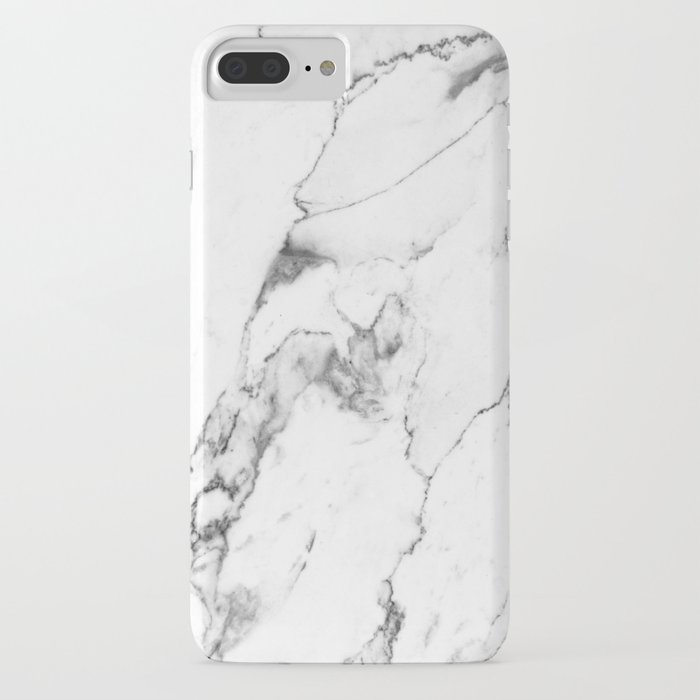 white marble i iphone case