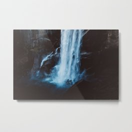 Blue Vernal Falls Metal Print
