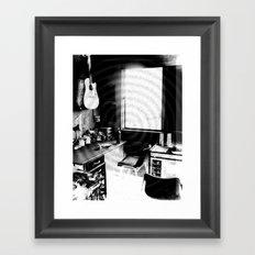 ATÊLIE B&W Framed Art Print