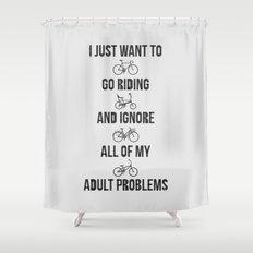 Go Riding Shower Curtain