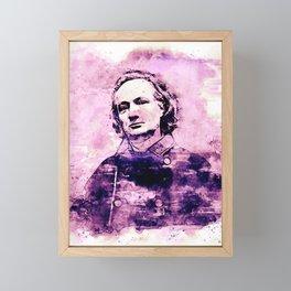 Charles Baudelaire 2. Framed Mini Art Print