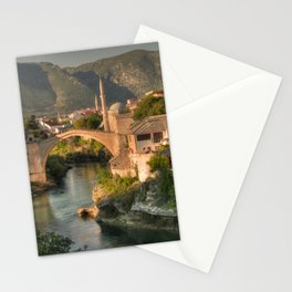 The Old Bridge of Mostar Stationery Cards