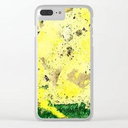 Rising Sun Clear iPhone Case