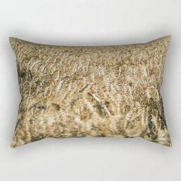 Wheat Field In The Wind Rectangular Pillow