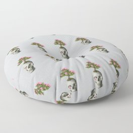 Bonsai Skull Floor Pillow