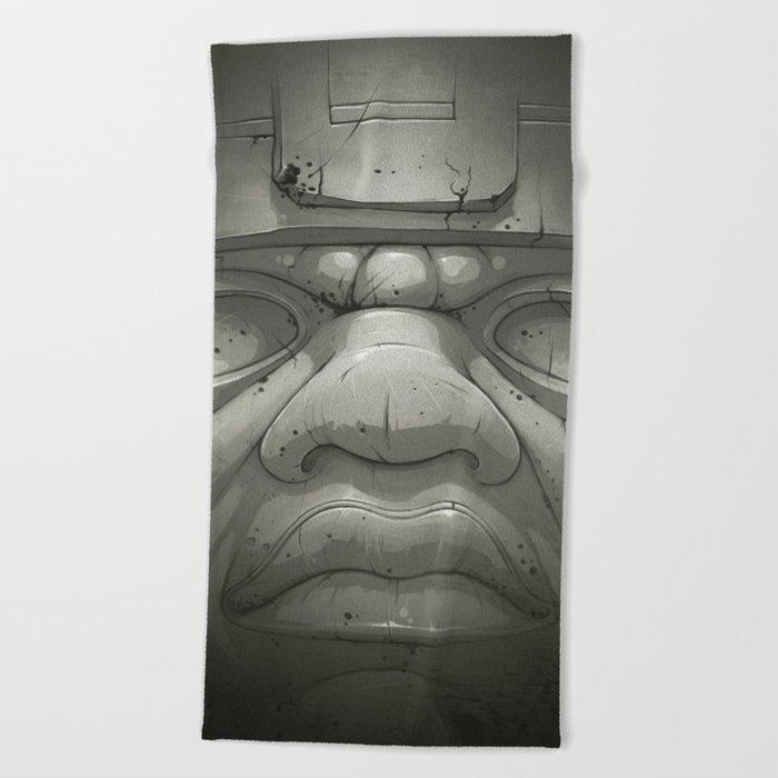Olmeca I. Beach Towel