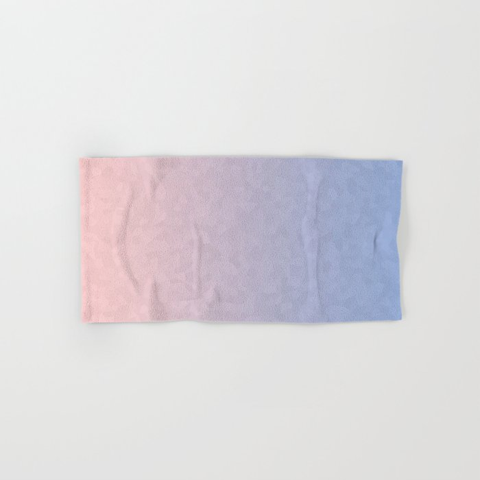 Rose Quartz and Serenity Mosaic Crystals Hand & Bath Towel