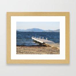 Tranquil Beach Framed Art Print