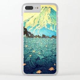 Waddling through Kennijo Lake Clear iPhone Case