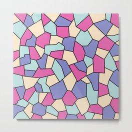 Hard Mosaic 01 Metal Print